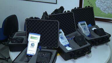 Polícia recebe bafômetro que detecta vestígio de álcool no ambiente - Polícia recebe bafômetro que detecta vestígio de álcool no ambiente.