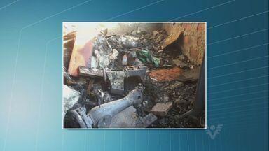 Casal de idosos perde pertences depois de incêndio - Animais também não escaparam do acidente