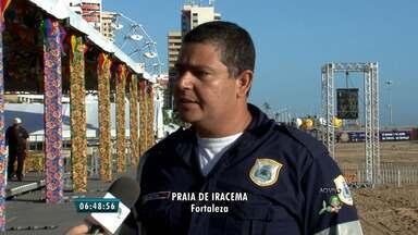 AMC fala como funcionará o esquema de trânsito para o São João de Fortaleza - Evento ocorre entre os dias 26 de junho e 5 de julho, no aterro da Praia de Iracema.