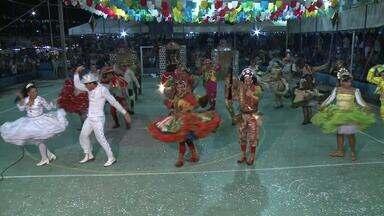 Apresentações do concurso Forró & Folia são retomadas em Marechal Deodoro - A cultura nordestina ganhou destaque nas apresentações dos grupos que dançaram no palhoção.