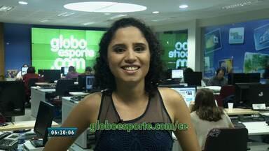 Confira os destaques do portal do Globo Esporte - globoesporte.com/ce