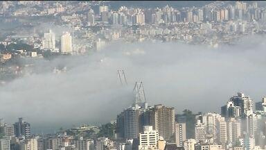 Grande Florianópolis registra nevoeiro; veja previsão do tempo - Grande Florianópolis registra nevoeiro; veja previsão do tempo