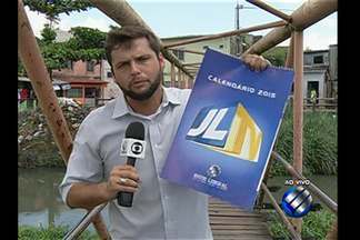 Calendário: comunidade aguarda reforma de passarela - Confira com o repórter Guilherme Mendes.