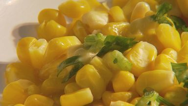 Fernando Kassab ensina receita apimentada com milho - Fernando Kassab ensina receita apimentada com milho