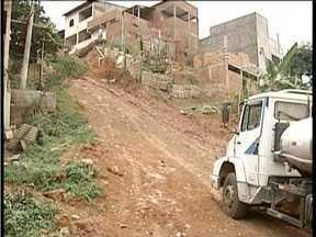 Calendário: Moradores do Bairro Turmalina em GV cobram pavimentação nas vias - Segundo moradores o município já prometeu diversas vezes realizar os trabalhos.