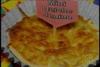 Aprenda a receita do Mini Quiche Junino - O Mini Quiche Junino, pode ser servido quente ou frio. Rende cerca de 20 unidades, e leva 40 minutos para ficar pronto.