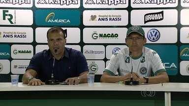 Goiás confirma Augusto César como interino e retorno de Erik - Técnico do sub-20 comanda o time contra o Flu e vai utilizar o atacante