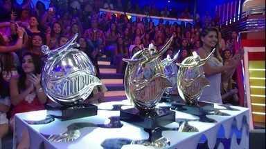 Elenco do Saltibum 2015 espera resultado no palco do Caldeirão - Vencedores irão ganhar um carro zero