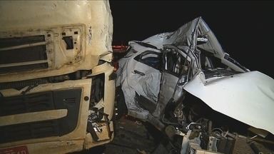 Cinco catarinenses, membros da mesma família, morrem em acidente no RS - Cinco catarinenses, membros da mesma família, morrem em acidente no RS