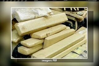 Polícia Federal apreende mais de uma tonelada de maconha após acidente em Petrópolis - Apreensão foi neste fim de semana.