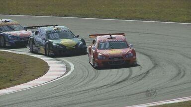 Piloto Marcos Gomes vence prova da Stock Car em Santa Cruz do Sul, RS - Foi a primeira vitória do piloto de Ribeirão Preto, SP, na temporada.