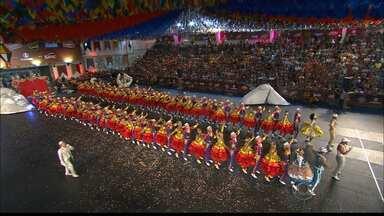 Moleka 100 Vergonha vence o Festival Regional de Quadrilha da Globo Nordeste - A grande final foi na cidade de Goiana e a campeã foi a Moleka 100 Vergonha, de Campina Grande.
