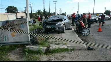 Acusado de atropelamento na BR 230 é preso em João Pessoa - O acidente aconteceu no ultimo sábado pela manhã em João Pessoa.