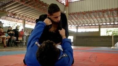 Campo Grande sedia seletiva para mundial de jiu-jítsu - No fim de semana teve seletiva para o mundial de jiu-jítsu em Campo Grande.