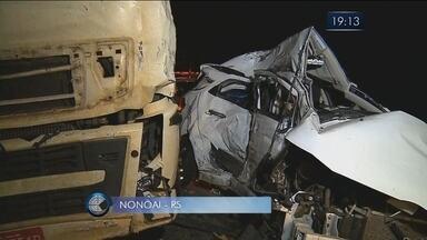 Família de catarinenses morre em acidente no RS; veja esta e outras notícias - Família de catarinenses morre em acidente no RS; veja esta e outras notícias
