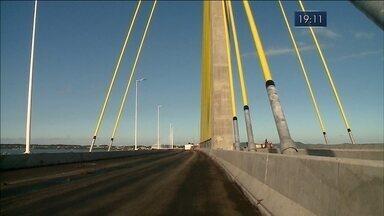 Nova ponte de Laguna ainda não tem data de inauguração confirmada - Nova ponte de Laguna ainda não tem data de inauguração confirmada