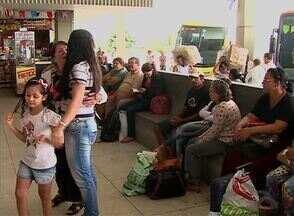 Caruaru registra fim de semana com maior movimentação no Terminal Rodoviário - Muitos turistas escolheram o ônibus como meio de transporte para voltar para casa.