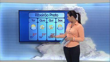 Confira a previsão do tempo para terça-feira (30) na região - De manhã faz frio, com bastante vento, mas aos poucos esquenta.
