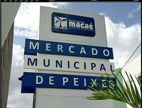Mercado de Peixes é inaugurado em Macaé, RJ, mas ainda sem vendas no local - Cerimônia aconteceu neste domingo.