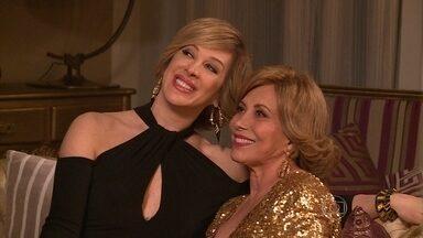 Claudia Raia conta como é fazer ela própria nas novelas - A atriz já gravou participações especiais em Zorra Total