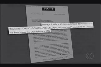 PF investiga ameaça a procurador do Trabalho em Uberlândia - Suspeito da intimidação é o vereador Juliano Modesto (Solidariedade). Vereador não atendeu ligação; procurador preferiu não conceder entrevista.