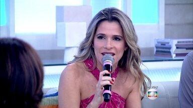 Ingrid Guimarães revela que tinha baixa autoestima quando era adolescente - Atriz revela que era prognata e passou por uma cirurgia: 'Foi uma mudança muito grande na minha vida'