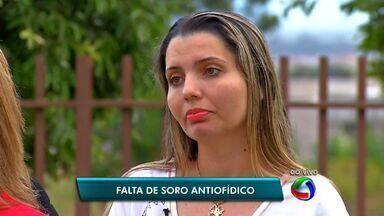 Está faltando soro antiofídico contra picada de jararaca em cidade de MT - Em Tangará da Serra está faltando soro antiofídico contra picada de jararaca