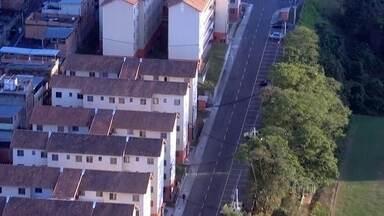 Bandidos voltam a invadir condomínio residencial Guadalupe - Cerca de 40 famílias sorteadas no programa Minha Casa Minha Vida, tiveram que abandonar seus imóveis por causa das ameaças dos criminosos.
