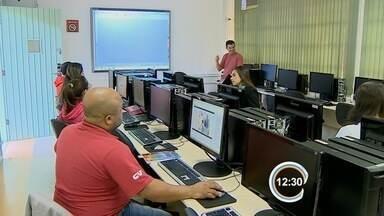 Estudantes aproveitam férias para fazer cursos de qualificação - Na região, há vários cursos gratuitos disponíveis.