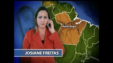 Detento que usou cordas para fugir do presídio é preso em Monte Alegre - Ele foi encontrado no bairro Terra Amarelo, na noite de segunda-feira (13). Mais dois homens foram presos por estarem o ajudando a se esconder.