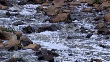 Vazão do Rio das Velhas está chegando ao nível de estado de atenção em Minas Gerais - Este é um dos estágios ante do racionamento para o consumo.