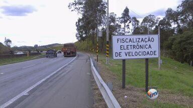 Acidentes caem 38% com operação de radares na Fernão Dias, em MG - Acidentes caem 38% com operação de radares na Fernão Dias, em MG