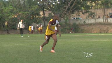 Sampaio finaliza preparação para enfrentar Paysandu - Sampaio finaliza preparação para enfrentar Paysandu, pela Série B, em Belém