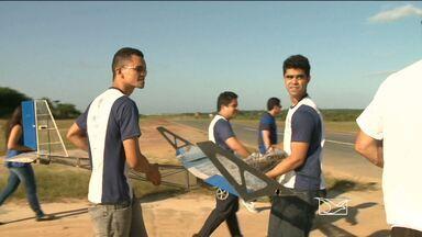 Estudantes maranhenses se preparam para competição de aerodesign em São Paulo - Estudantes maranhenses se preparam para competição de aerodesign em São Paulo