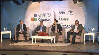 Primeira parte do Agenda Ribeirão debate situação econômica do país e da região - O encontro é promovido pelo Jornal A Cidade e pela Rádio CBN, com o apoio da EPTV.