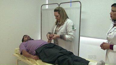 Botox é utilizado para tratamento de problemas musculares - Toxina Botulínica é usada pela equipe médica do Hospital Universitário Regional dos Campos Gerais, em Ponta Grossa
