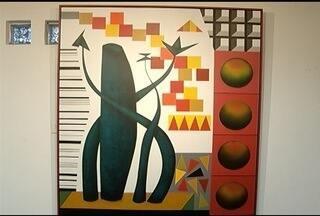 'Exposição Tempos Aqueles' é realizada em Montes Claros - Artista plástico Luiz Guimrães mostra o seu trabalho.
