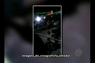 MPM apura conduta do PM que aparece em um vídeo espirrando spray de pimenta em um jovem - Caso aconteceu mês passado em Tomé-açú, nordeste do estado