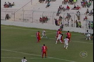 Salgueiro perde em casa para o Vila Nova e deixa o G4 - O placar do jogo foi de 1 a 0