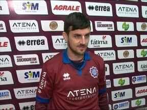 Caxias apresenta novo reforço pra série C - Jogador Danilinho é o novo meia da equipe.