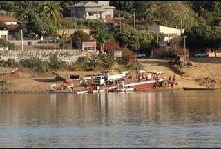 Balsa que faz a travessia do Rio São Francisco em São Romão volta a funcionar - Embarcação ficou interditada por 20 dias