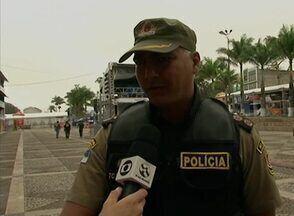 Autor de tiro que feriu duas pessoas no 25º FIG é preso, diz Polícia Civil - 'Havia grande preocupação', disse em nota a prefeitura sobre noite do FIG. Reunião com órgãos de segurança aconteceu nesta tarde.