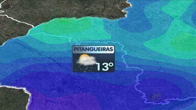 Previsão de sol e tempo quente na região de Ribeirão Preto, SP - Meteorologistas prevêem chuva no fim da tarde de quarta-feira (22) em pontos isolados.