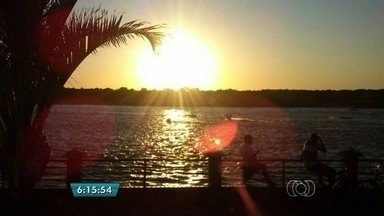 Confira a previsão do tempo desta quarta-feira (29) para todo o estado - O dia deve ser de sol com algumas nuvens em todas as regiões do estado. O norte de Goiás deve ter a umidade mais baixa.