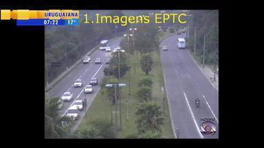 Trânsito: confira a movimentação na manhã desta quarta-feira (29) - Assista ao vídeo.