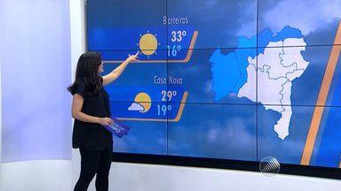 Veja a previsão do tempo para esta quarta-feira (29) - Saiba como fica a previsão no estado.
