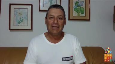 Rubinho Prado, do Doutores das Águas, manda recado para o Como Será? - Mais de 300 pessoas se candidataram para serem voluntários no projeto depois da reportagem do programa.