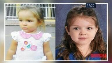 Polícia americana recolhe material genético da mãe da menina Emili - Polícia americana recolhe material genético da mãe da menina Emili