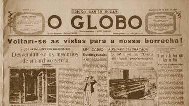 Missa celebra os 90 anos do jornal O Globo - O jornal O Globo completou nesta quarta-feira (29), atento ao passado e de olho no futuro. Foram 30 mil edições desde a criação.