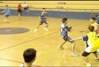 Após título nos Jogos de Minas, handebol masculino montes-clarense volta aos treinos - Time montes-clarense ficou com o vice-campeonato na categoria infantil.
